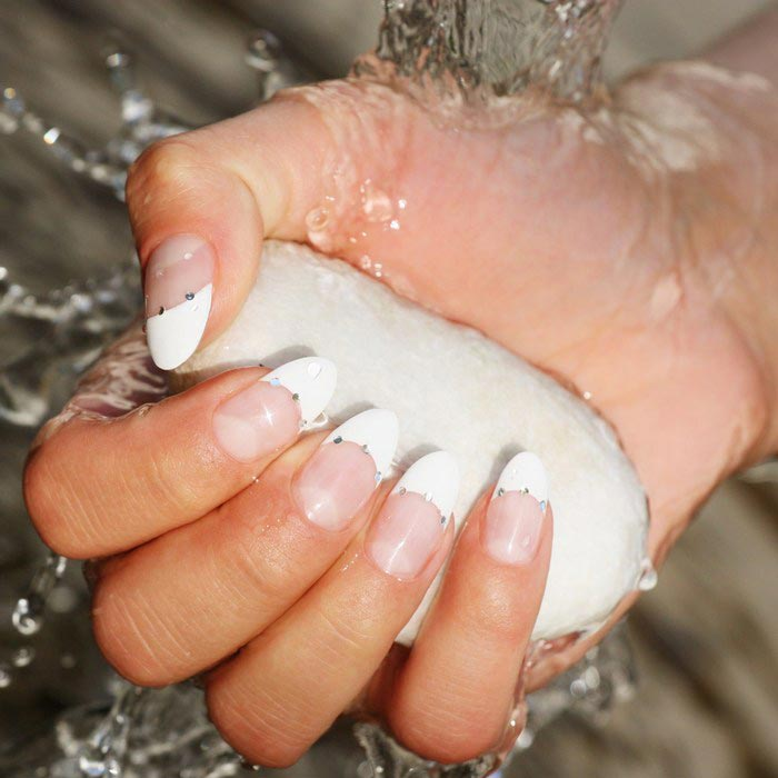 French Manicure Nails Nagel Bilder Galerie Mit Nageldesign