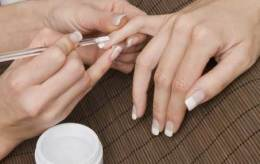 French Manicure Nägel